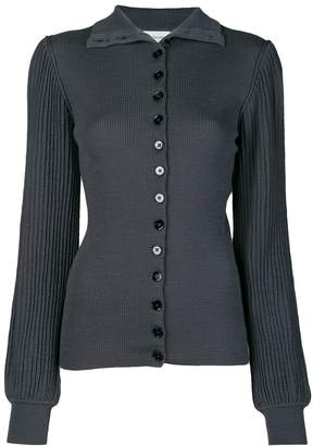 Lemaire knitted pleated cardigan