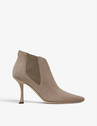 Jimmy Choo Maira 90 suede ankle boots