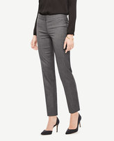 Ann Taylor The Petite Ankle Pant In Sharkskin - Devin Fit