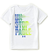 Under Armour Little Boys 2T-7 Unstoppable Crew Neck Short-Sleeve Tee