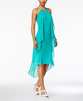 Thalia Sodi Chain-Neck High-Low Halter Dress, Only at Macy's