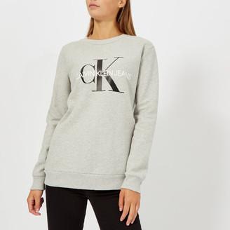 Calvin Klein Jeans Women's Core Monogram Logo Sweatshirt
