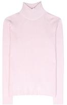 Carven Ribbed Turtleneck Sweater