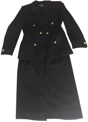 Guy Laroche Black Wool Jacket for Women Vintage