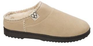 Dearfoams Women's Microsuede High Vamp Clog Slippers