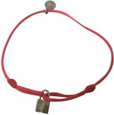 Louis Vuitton Lockit Pink Silver Bracelets