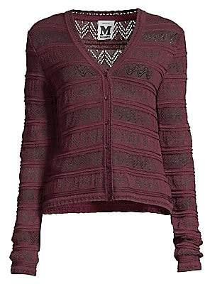 M Missoni Women's Open Knit Cardigan