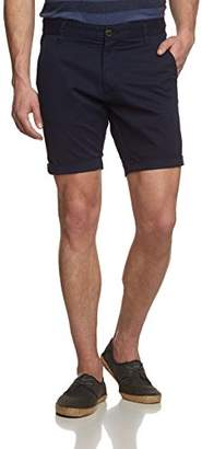 Selected Men's Three Paril st Navy Shorts NOOS H Blue