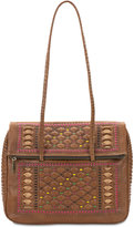 Patricia Nash Carved Lineage Piola Medium Satchel