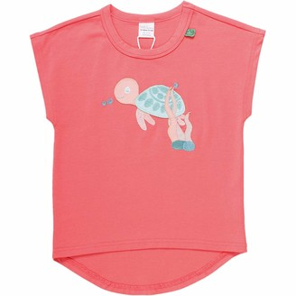 Green Cotton Fred's World by Girl's Ocean Turtle S/s T T-Shirt