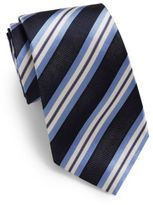 Saks Fifth Avenue Shadow Striped Silk Tie