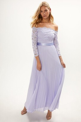 Coast Lace Bodice Bardot Maxi Dress