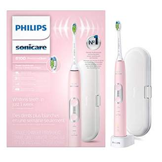 Sonicare Philips ProtectiveClean 6100 Rechargeable Electric Toothbrush