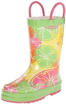 Western Chief Kids' Crazy Citrus Rain Pull-On Boot