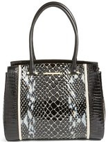 Brahmin Carlisle Alice Leather Shoulder Bag - Black