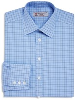 Turnbull & Asser Overcheck Classic Fit Dress Shirt