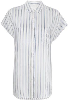 Maison Margiela pinstriped short sleeved shirt