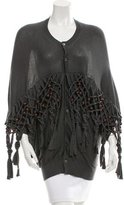 Comme des Garcons Knit Beaded Cardigan w/ Tags