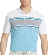 Izod Golf Short-Sleeve Chambray Polo