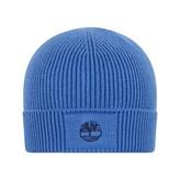Timberland TimberlandBoys Blue Cotton Knit Pull On Hat