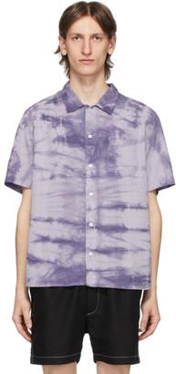Saturdays NYC Blue Alpons Miner Wash Shirt