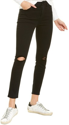 Hudson Barbara Tilted High-Waist Super Skinny Ankle Cut Jean