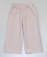 Princess Linens Red & Green Plaid Pants - Infant, Toddler & Boys