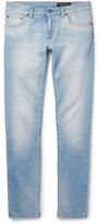 Dolce & Gabbana Slim-Fit Faded Washed Stretch-Denim Jeans