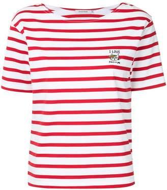 GUILD PRIME x SANDER STUDIO striped short-sleeve T-shirt