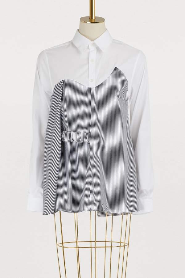 Aalto Cotton striped shirt