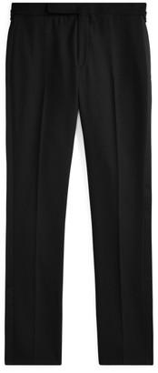 Ralph Lauren Gregory Wool Tuxedo Trouser