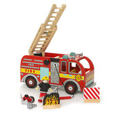 Le Toy Van NEW Fire Engine Set