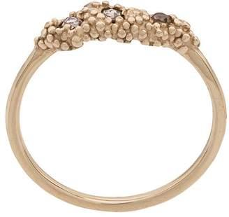Niza Huang 9kt Gold Diamond 3 Stone Ring