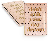 Rosanna Multicolored Don&t Quit Your Daydream Dish Gift Box