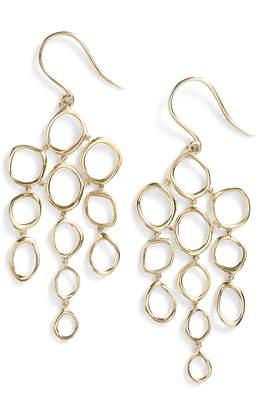 Bony Levy Geo Circle Chandelier Earrings