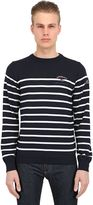 "Paul & Shark ""Admiral's"" Striped Wool Sweater"