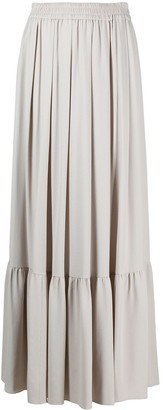 Fabiana Filippi Pleated Maxi Skirt