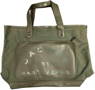 Marc by Marc Jacobs Green Cloth Handbags