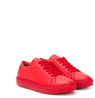 Gallucci Kids Low Top Lace Up Sneakers