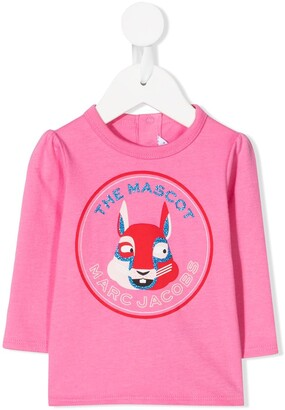 The Marc Jacobs Kids The Mascot crew neck top