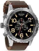 Nixon The 51-30 Chrono Leather Watch, 51mm
