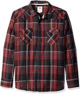 Levi's Men's Albemarle Long Sleeve Flannel Woven