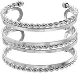 JLO by Jennifer Lopez Rope Multi Row Cuff Bracelet