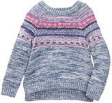 Design History Instarsia Sweater (Toddler & Little Girls)