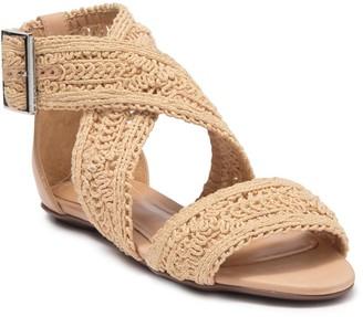 Schutz Brunella Crochet Ankle Strap Sandal