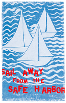 Surya Sail Away from the Safe Harbor Wall Art