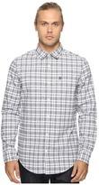 Original Penguin Long Sleeve Jaspe Plaid Oxford Woven Shirt