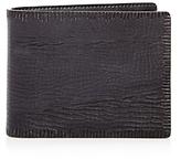 John Varvatos Leather Bifold Wallet