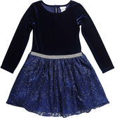 Youngland Young Land Long Sleeve Party Dress - Preschool