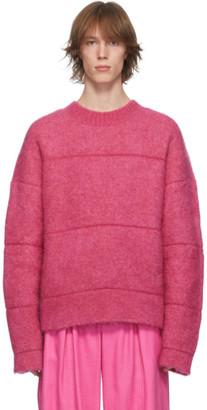 Jacquemus Pink La Maille Albi Sweater